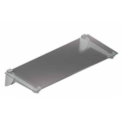 Estante de Cristal Transparente con sistema de fijación a expansión Kode03
