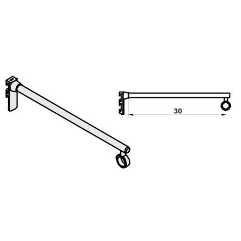Soporte para barra colgadora sistema de fijación Climb