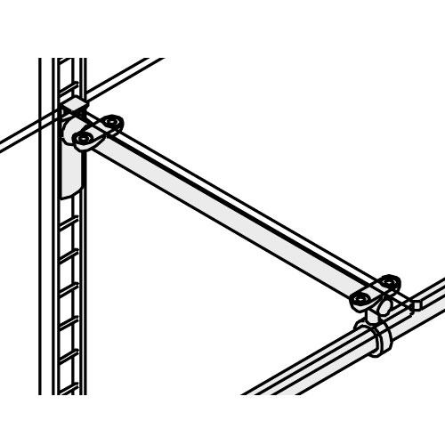 Especificación Estribo con soporte para barra colgadora central Climb