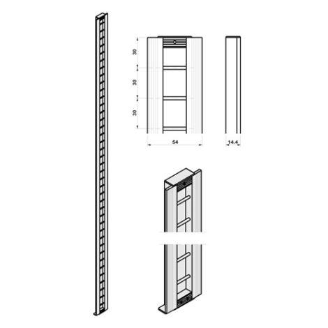 Perfiles CP para paredes con paneles Climb