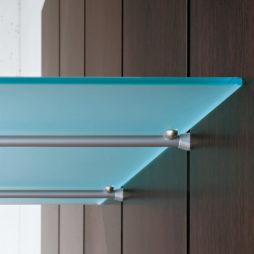 Estante de cristal para perfil de pared en escalera Climb