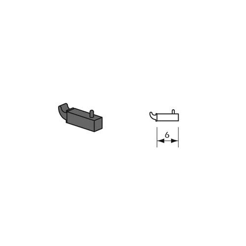 Gancho simple sistema fijacion Kode02