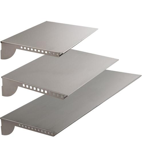 Estante de acero para botones y barras sistema fijación Kode01