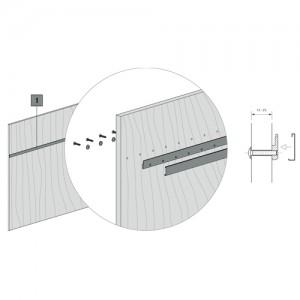 Barra Kode01 con Sistema de Fijación Posterior