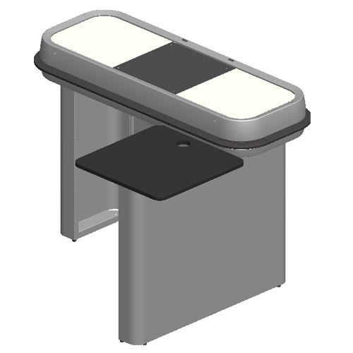 Mueble Caja GS2C  Equipamiento Comercial Equitiend