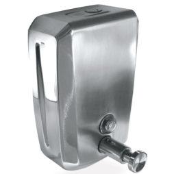 Dosificador de jabón en acero inoxidable 1.2 L