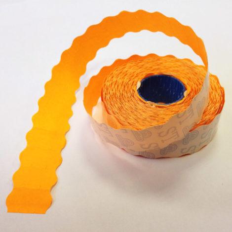 Etiqueta Adhesiva 2,2x1,2 Naranja