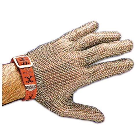 Guante cinco dedos ambidiestro en acero inoxidable