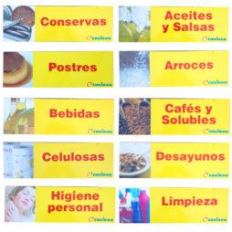 Indicador Pasillo Alimentacion Coviran