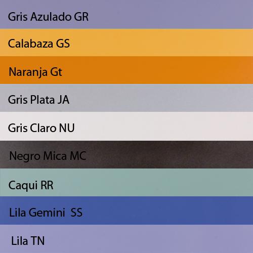 Colores barnizado disponibles para Estante de Madera Thinline
