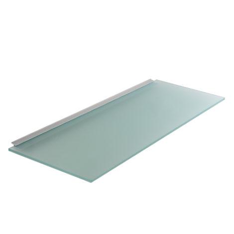 Estante de Cristal con Perfil de Aluminio para Panel Lama Thinline