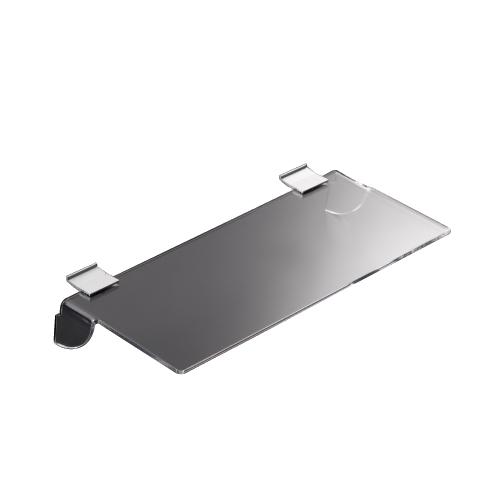 Estante Sencillo de Metacrilato profundidad 10cm para Paneles Lama Thinline