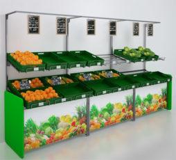 Equipamiento para fruter as comunicaci n merchandising for Decoracion de fruterias