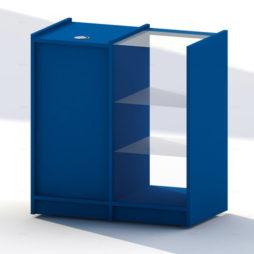 Mostrador Solia Azul Gitana