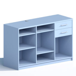 Mostrador Bedunia Azul Horizonte