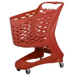 Carro Autoservicio Easy Trolley Rojo