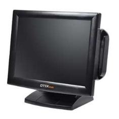 """Monitor Tft 17"""" Tactil Tpv Vga + Dvi Negro"""