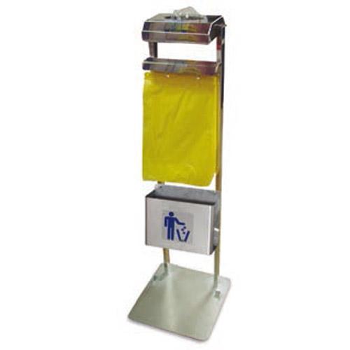 Conjunto dispensador de bolsas y guantes con papelera - Dispensador de bolsas de plastico ...